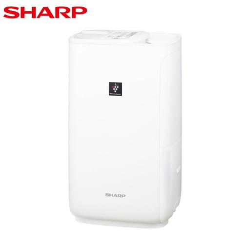 SHARP プラズマクラスター加湿器 ハイブリッド式 プレミアムホワイト HV-L55-W