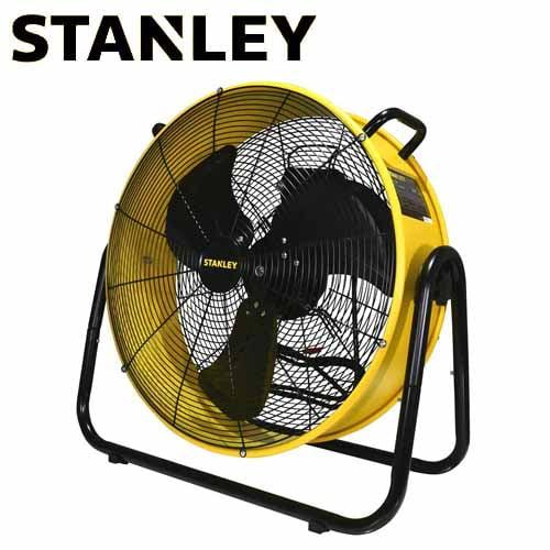 スタンレー 扇風機 ドラム式工業扇 開放式モーター 50cm イエロー SLF005018