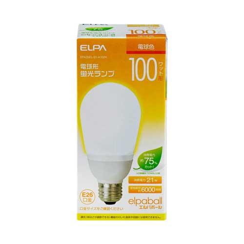 【売切れ御免】電球形蛍光灯 100Wタイプ E26 電球色 A型 EFA25EL/21-A102H