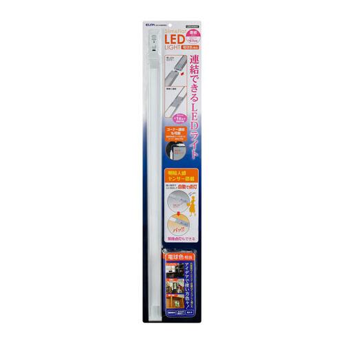 朝日電器 LED直管形器具 スリム&フラットライト LED多目的灯 明暗人感センサータイプ 67cm 電球色 ALT-J1060PIR(L)