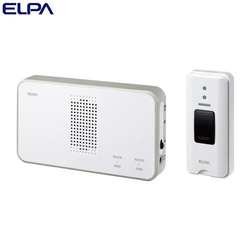 ELPA ワイヤレスチャイム 押ボタンセット (受信器・送信器) EWS-S5030