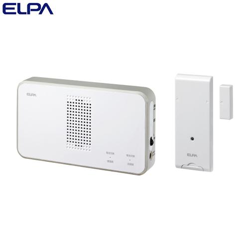 ELPA ワイヤレスチャイム ドア開閉センサーセット (受信器・送信器) EWS-S5034