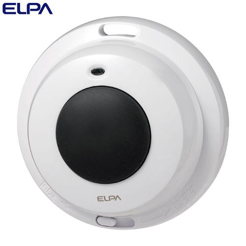 ELPA ワイヤレスチャイム 防水押ボタン送信器 EWS-P32