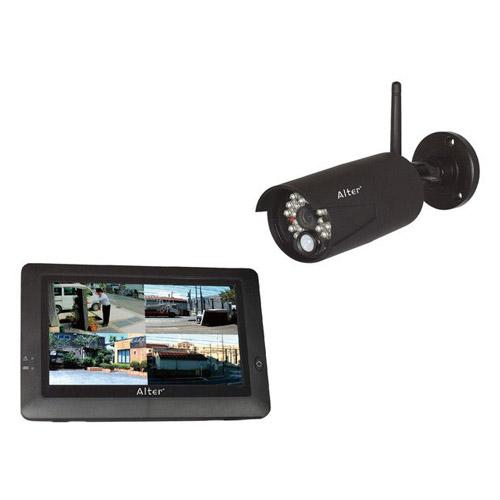 キャロット 防犯カメラ ハイビジョン無線カメラ&モニターセット AT-8801