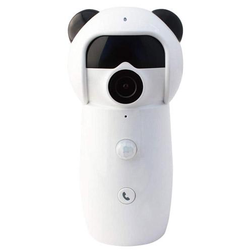 グランシールド 防犯カメラ ダイビーコール2K ホワイト GS-DVY021