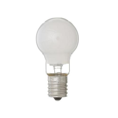 ヤザワ 白熱電球 白熱灯 省エネクリプトン球 E17口金 25W形 フロスト P351722F