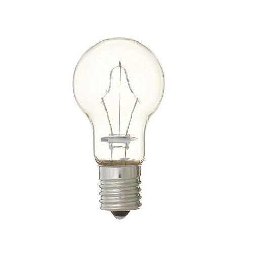 ヤザワ 白熱電球 白熱灯 省エネクリプトン球 E17口金 60W形 クリア P351754C