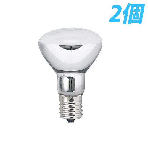 ヤザワ 白熱電球 白熱灯 ミニレフ球 E17口金 40W形 2個入パック R4517402P