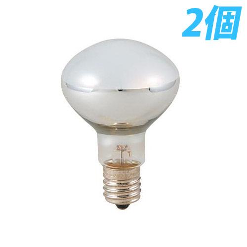 ヤザワ 白熱電球 白熱灯 ミニレフ球 E17口金 50W形 2個入パック RF5017502P