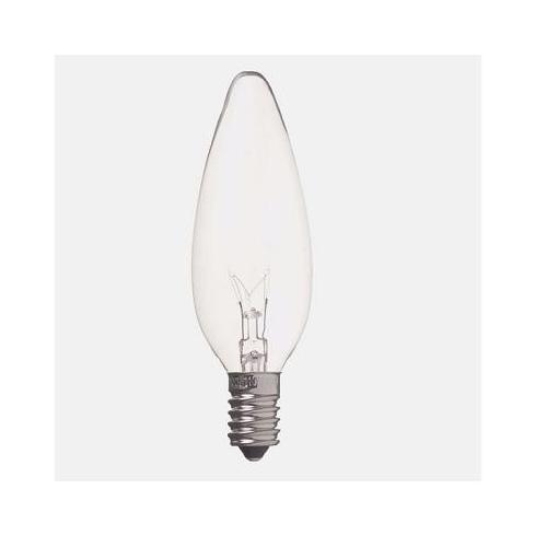 【売切れ御免】ヤザワ 白熱電球 白熱灯 シャンデリア球 E14口金 25W形 クリア C321425C