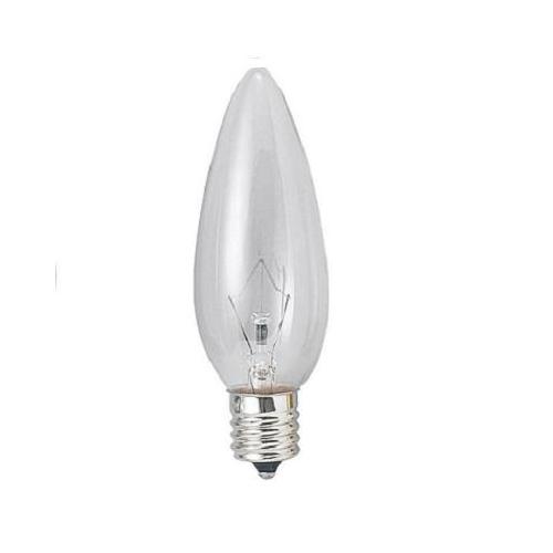 ヤザワ 白熱電球 白熱灯 シャンデリア球 E17口金 40W形 クリア C321740C