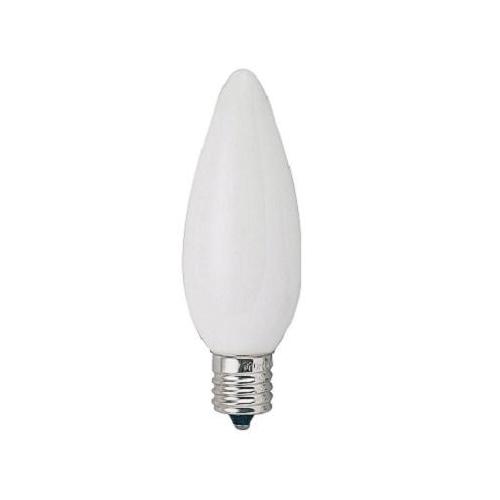 ヤザワ 白熱電球 白熱灯 シャンデリア球 E17口金 60W形 フロスト C321760F
