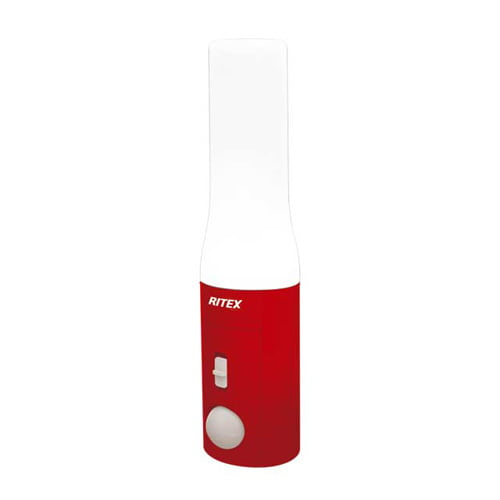 ムサシ LEDライト RITEX センサー付きどこでも懐中電灯 乾電池式 ASL-037