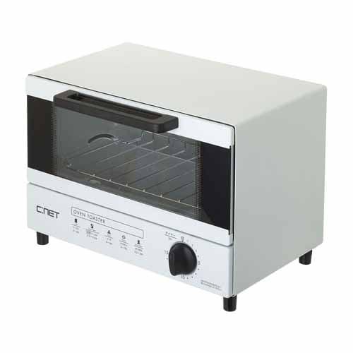 C:NET オーブントースター 2枚焼き ベビーブルー SOT902LBL