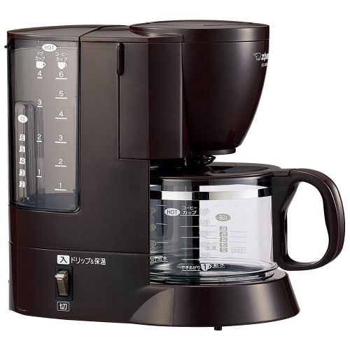 象印マホービン コーヒーメーカー 6杯用 EC-AK60-TD