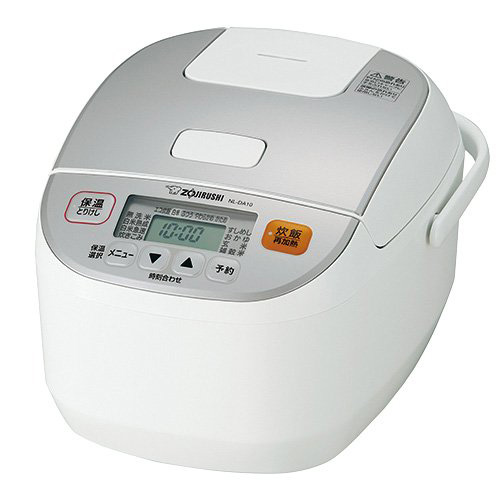 象印マホービン 炊飯器 極め炊き マイコン炊飯ジャー 5.5合炊き ホワイト NL-DA10-WA