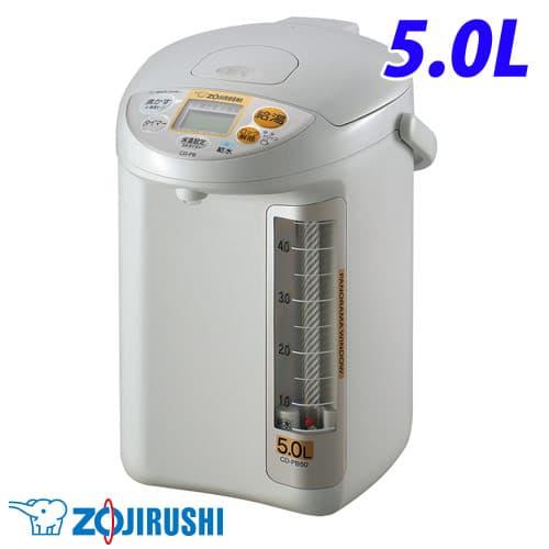 象印マホービン 電気ポット 5.0L グレー CD-PB50-HA