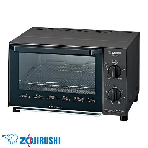 象印マホービン オーブントースター こんがり倶楽部 ブラック EQ-AG22-BA