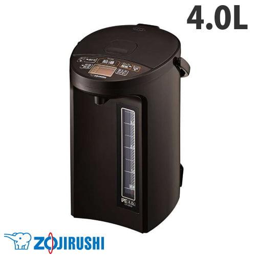 象印マホービン 電動ポット マイコン沸とうVE電気まほうびん 優湯生 4.0L ブラウン CV-GB40-TA