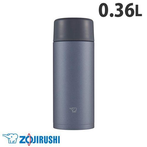 象印マホービン 水筒 ステンレスマグ TUFF スクリュータイプ 0.36L スレートブラック SM-ZA36-BM
