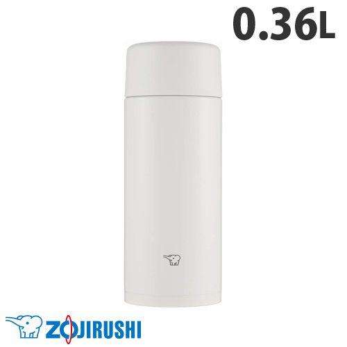 象印マホービン 水筒 ステンレスマグ TUFF スクリュータイプ 0.36L ペールホワイト SM-ZA36-WM