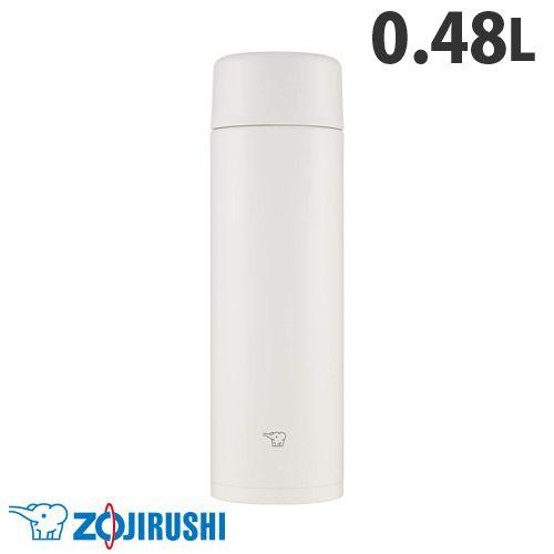 象印マホービン 水筒 ステンレスマグ TUFF スクリュータイプ 0.48L ペールホワイト SM-ZA48-WM