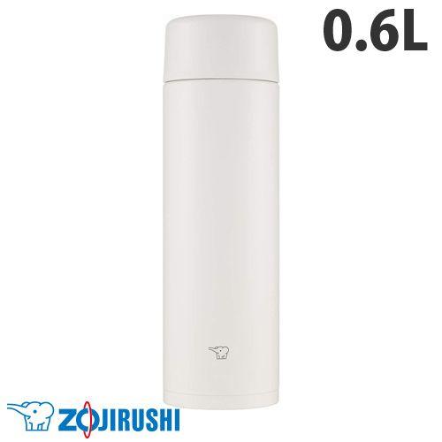 象印マホービン 水筒 ステンレスマグ TUFF スクリュータイプ 0.60L ペールホワイト SM-ZA60-WM