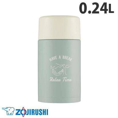 象印マホービン 水筒 ステンレスマグ TUFF スクリュータイプ 0.24L アッシュグリーン SM-ZP24-GZ