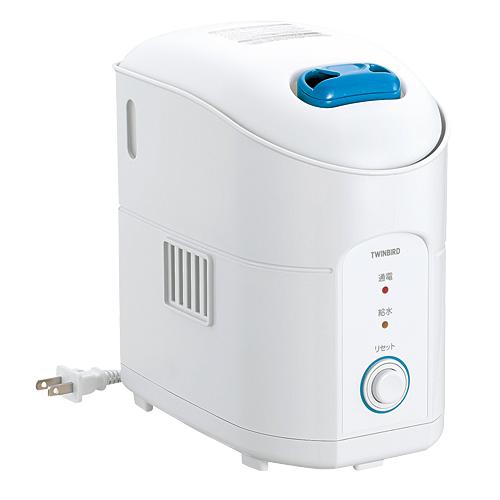 ツインバード工業 スチーム加湿器 パーソナル加湿器 スチーム式 ホワイト SK-4974W