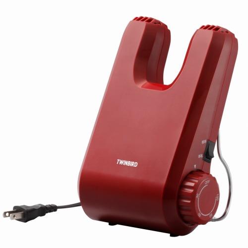 ツインバード工業 くつ乾燥機 レッド SD-4546R