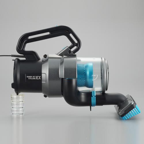 ツインバード工業 掃除機 パワーハンディークリーナー ハンディージェットサイクロンEX ブラック HC-EB51GY
