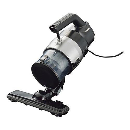 ツインバード工業 掃除機 パワーハンディークリーナー ハンディージェットサイクロンEX2 メタリックグレー HC-EB53GY