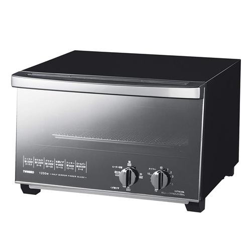 ツインバード工業 ミラーガラス オーブントースター TS-D047B