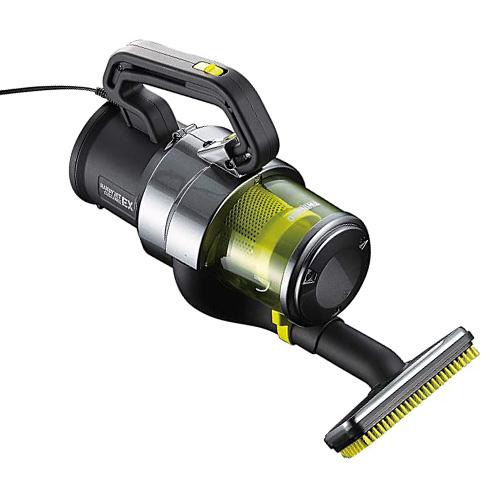 ツインバード工業 掃除機 パワーハンディークリーナー ハンディージェットサイクロンEX メタリックグレー HC-E251GY