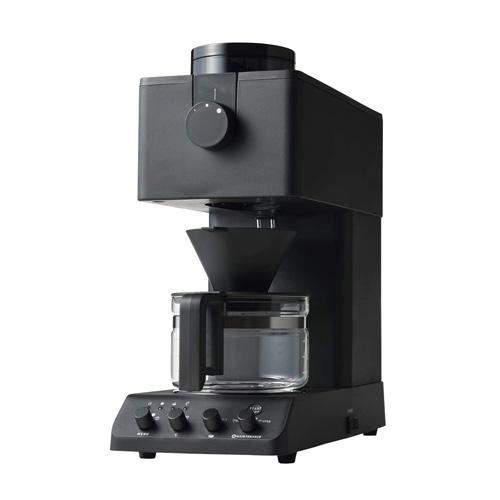 ツインバード工業 全自動コーヒーメーカー 3杯用 ブラック CM-D457B