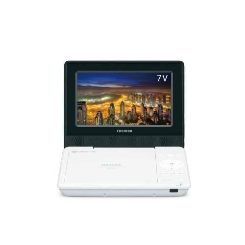 東芝 レグザ ポータブルDVDプレイヤー CPRM対応 7型 SD-P710S-W