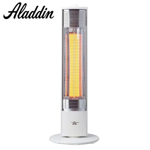 アラジン 電気ストーブ 高性能遠赤グラファイトヒーター ホワイト AEH-GM902N-W