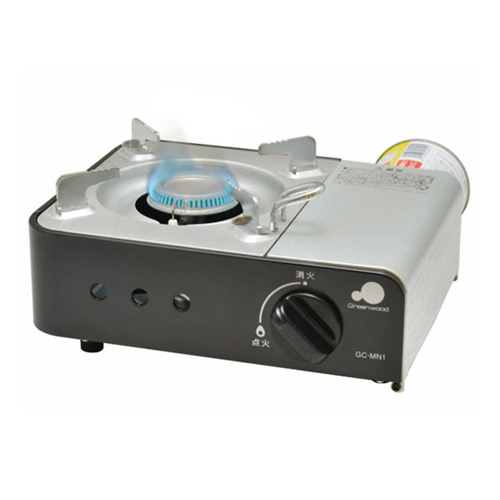 グリーンウッド カセットコンロ クッキングファイヤー ミニ GC-MN1