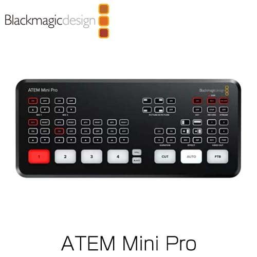 Blackmagic Design (ブラックマジック・デザイン) ライブプロダクションスイッチャー ATEM Mini Pro SWATEMMINIBPR
