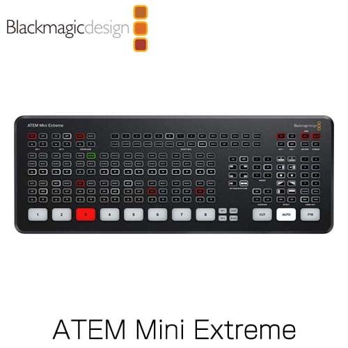 Blackmagic Design (ブラックマジック・デザイン) ライブプロダクションスイッチャー ATEM Mini Extreme SWATEMMINICEXT