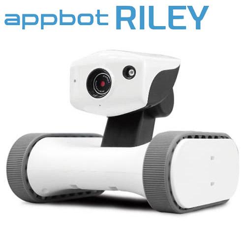ライオン事務器 防犯カメラ アボットライリー 移動型カメラ付き見守りロボット RILEY-17(095-20)