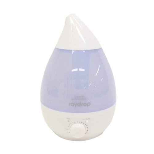ヒロ・コーポレーション 加湿器 レイドロップ 超音波アロマLED加湿器 2.4L ホワイト KH-202WH