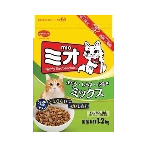 日本ペットフード ミオドライミックス まぐろ味 1.2Kg