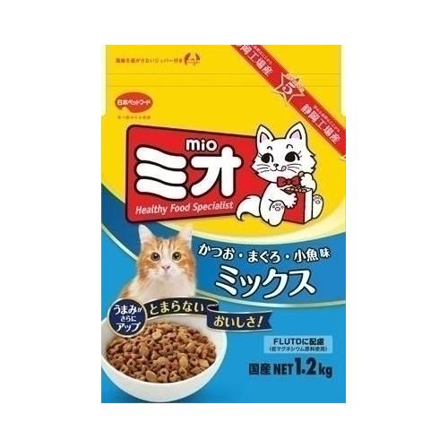 日本ペットフード ミオドライミックス かつお味 1.2Kg