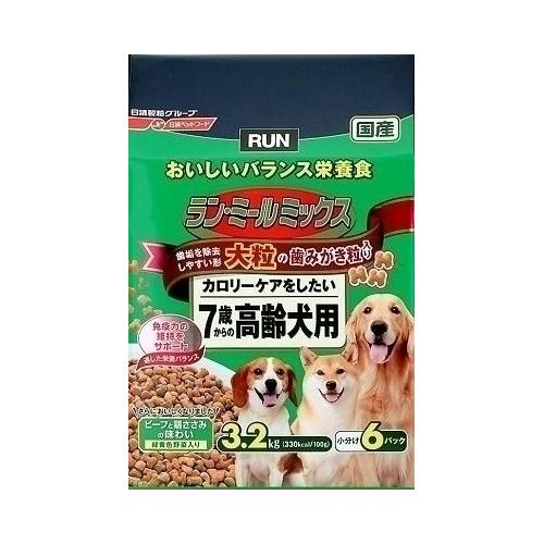 日清ペットフード ランミールミックス 大粒 7歳高齢犬用 3.2Kg