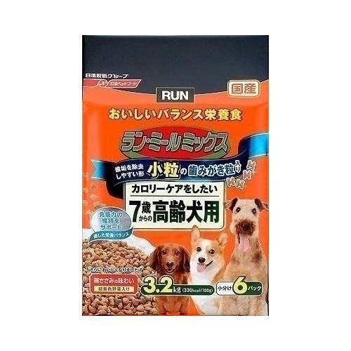 日清ペットフード ランミールミックス 小粒 7歳高齢犬 3.2Kg