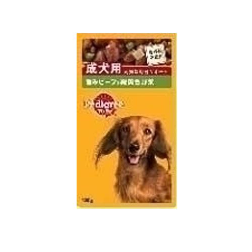 マース ぺディグリー 成犬用 ビーフ&野菜 130g P101
