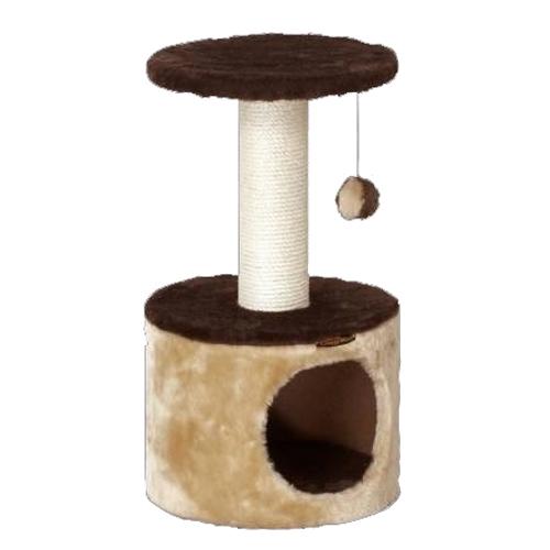 ドギーマンハヤシ 猫タワー スクラッチリビング コンパクトルーム
