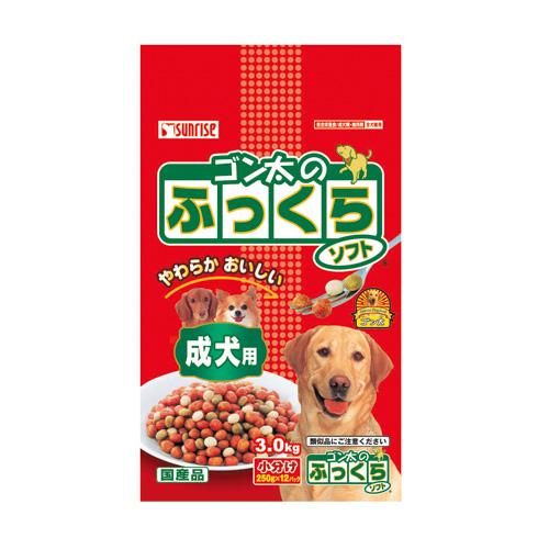 マルカン ゴン太のふっくらソフト 成犬用 3kg