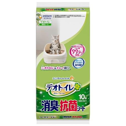 ユニ・チャーム 消臭・抗菌シート デオトイレ 10枚